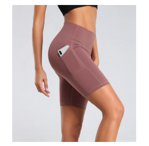 Shorts for Women with Pocket - Workout Running Biker Shorts for Women High Waisted Plus Size Yoga Women Shorts