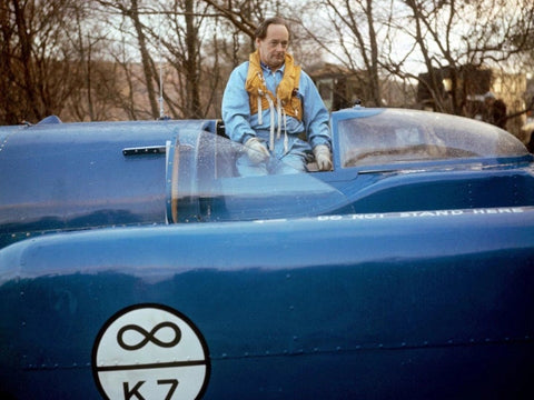 Donald and Bluebird K7 - PA Wire