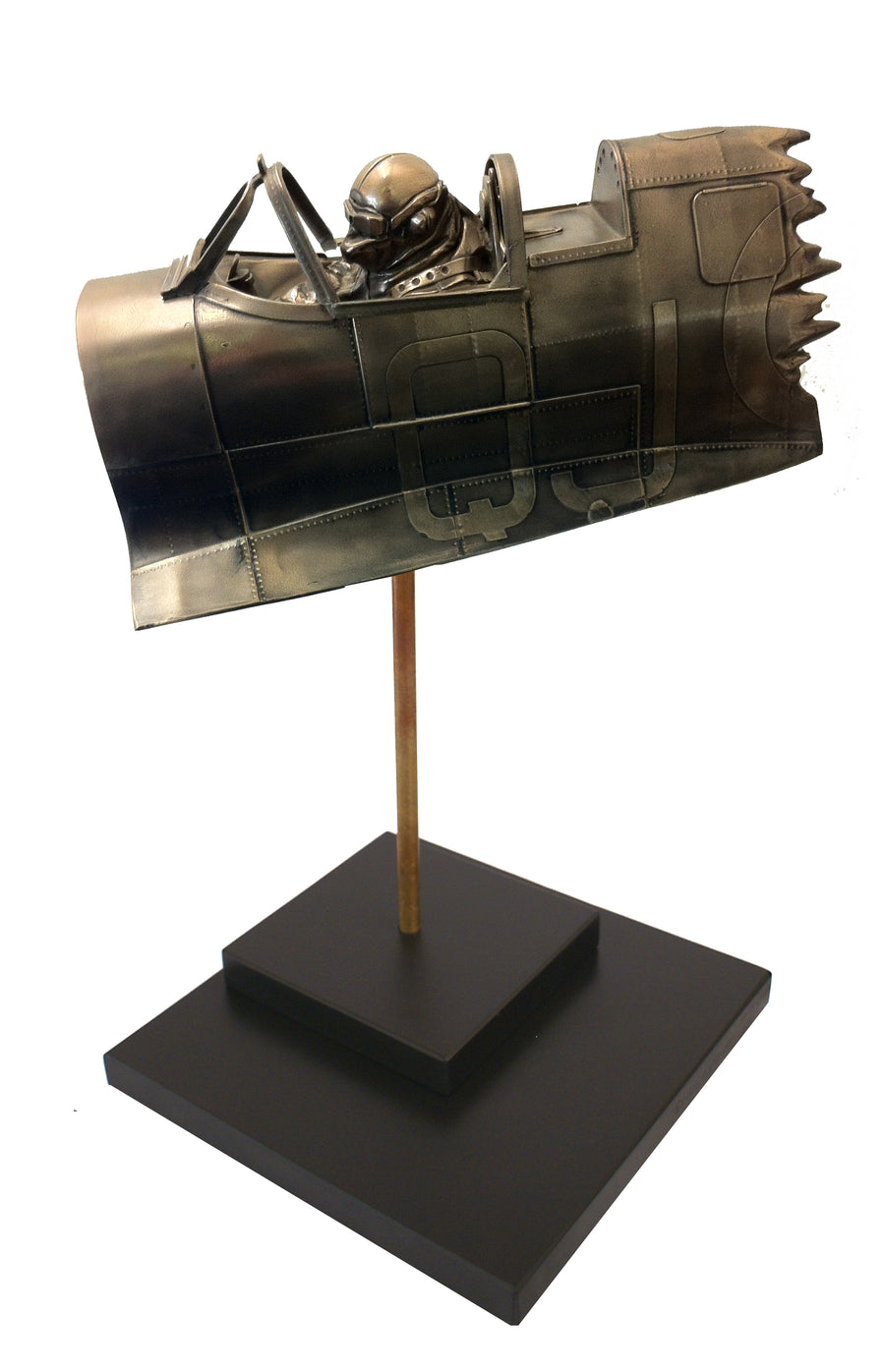 Endeavour - Cold Cast Bronze Resin Sculpture