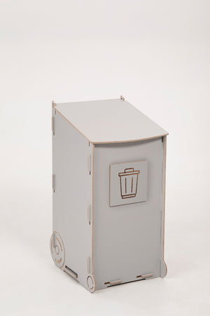 Recycle 50 L light gray