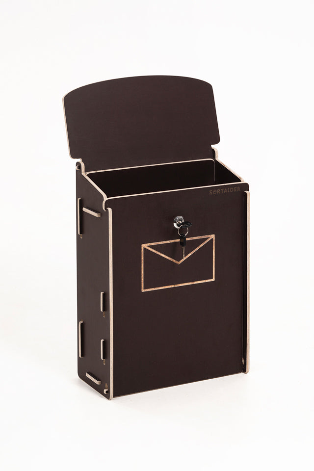 Mailbox dark brown