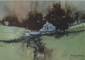 Hill Cottage Card