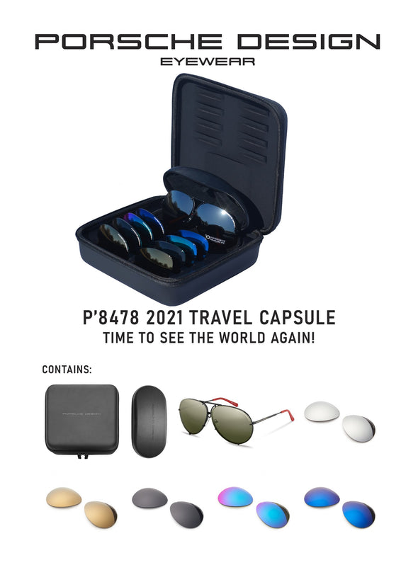 "Porsche Design P8478 2021 Travel Capsule ""Time To See The World Again"" Limited Edition"