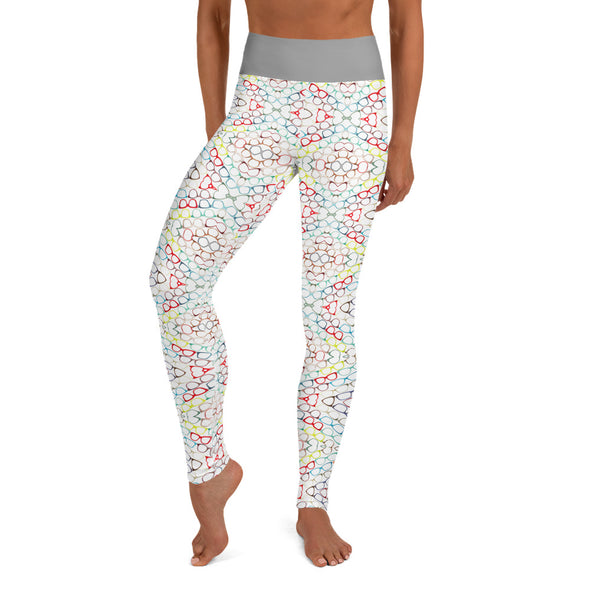 TGG Glasses Addict Yoga Leggings (without pocket)
