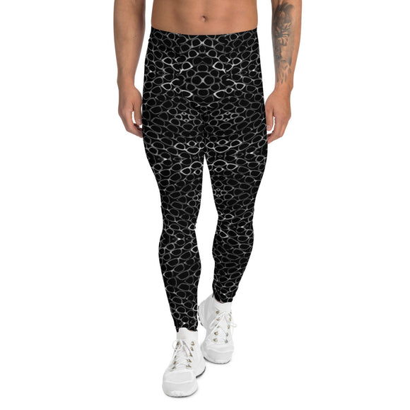 TGG Glasses Lover Blackout Edition Men's Leggings