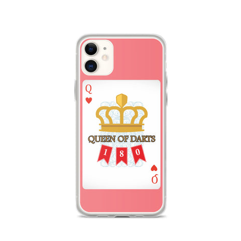 Queen Of Darts iPhone Case | Hamsah Darts - Hamsah Darts