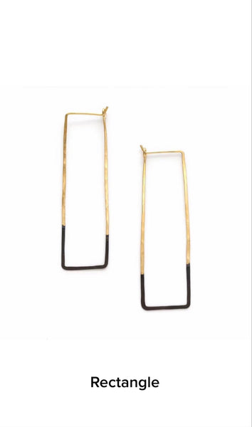 Mired Metal Earrings