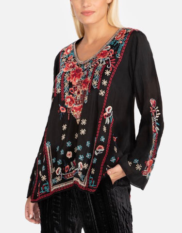 Black Dulci Tunic