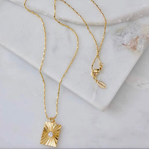Desert Star Medallion Necklace