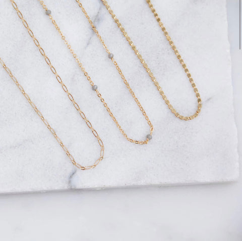 Gold Filled Layering Necklace