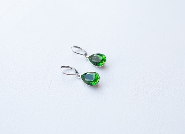Swarovski Teardrop Dangle