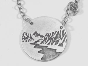 Echo Mountain Necklace