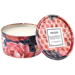 6 Oz Blackberry Rose Oud Candle