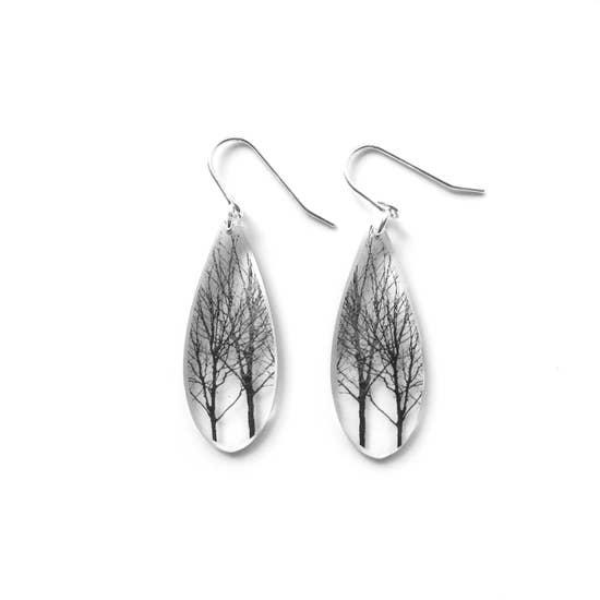 Drip Tree Earring