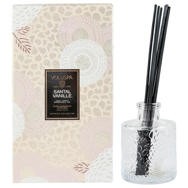 3.4 Fluid Oz Santal Vanille Reed Diffuser