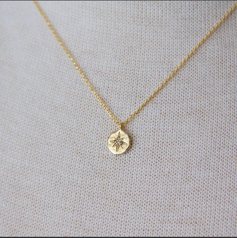 Small North Star Necklace