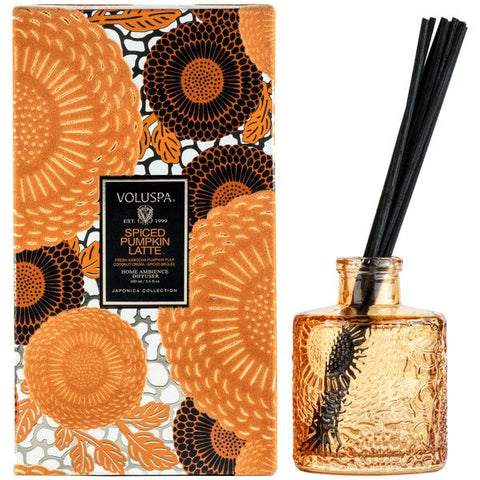 3.4 Fluid Oz Spiced Pumpkin Latte Reed Diffuser