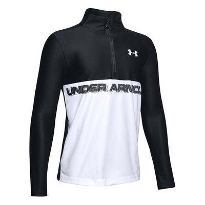Under Armour Tech 1/2 Zip Kids T-Shirt