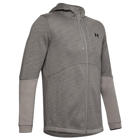 Under Armour Double Knit Full Zip Mens Hoodie