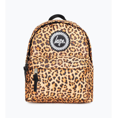 Hype Leopard Print Mini Backpack