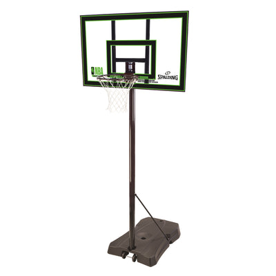 Spalding NBA Highlight Acrylic Portable Basketball Hoop System
