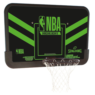 Spalding NBA Highlight Basketball Backboard
