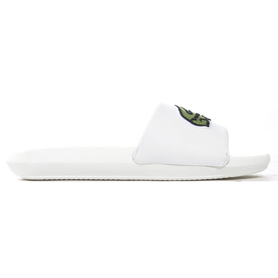 Lacoste Womens Oversized Croco Slide