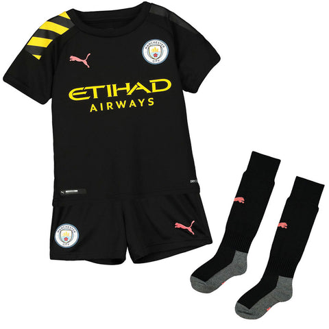 Puma Manchester City 2019/20 Away Mini Kit