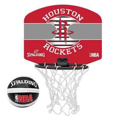 Spalding Houston Rockets Micro Mini Basketball Set