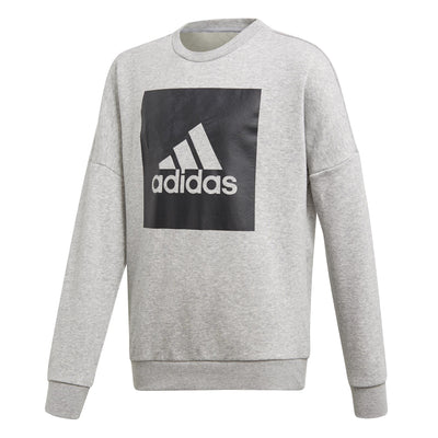 adidas Big Logo Kids Crew Sweatshirt