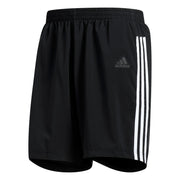 "adidas Run 3-Stripes Mens 5"" Running Short"