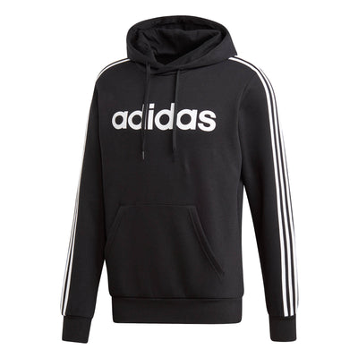 adidas 3-Stripe Mens Over Head Hoodie