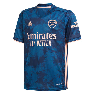 adidas Arsenal 2020/21 Kids Short Sleeve Third Shirt