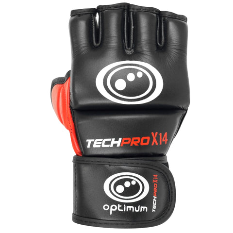 Optimum Techpro X14 MMA Grappling Gloves