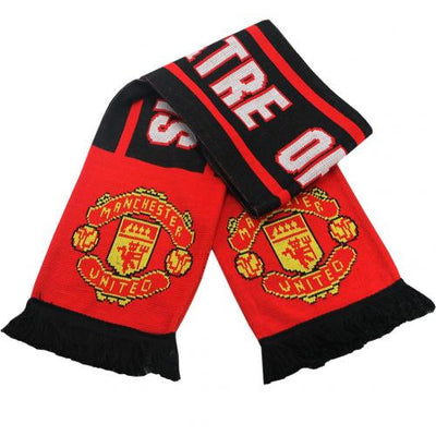 Manchester United Drop Ball Scarf