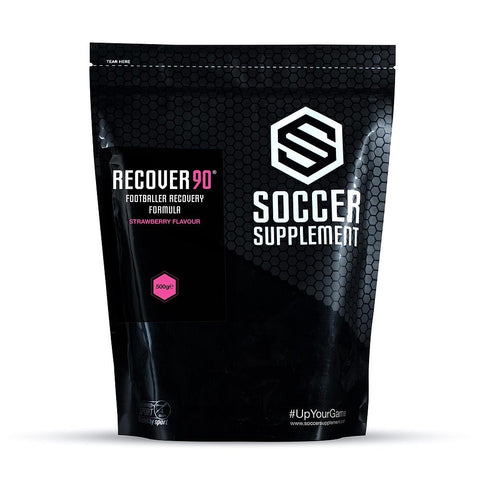 Soccer Supplement Recover90 Formula Strawberry
