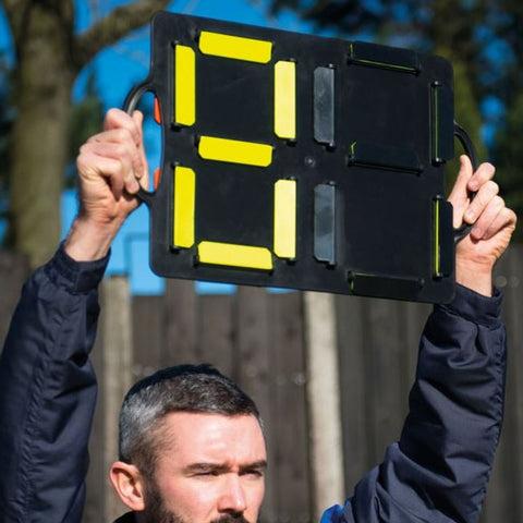 Precision Substitutes Number Board