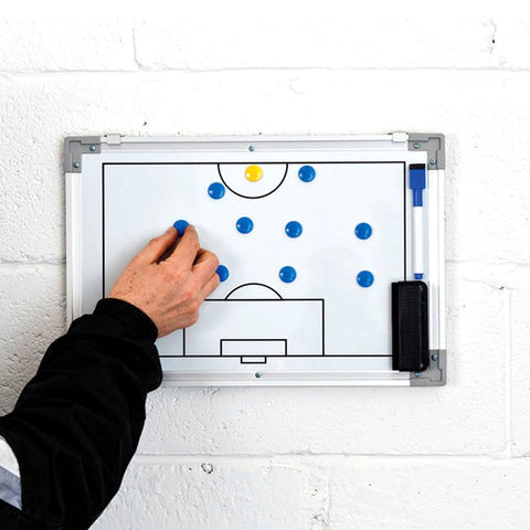 Precision Football Double Sided Wall Tactic Board Small
