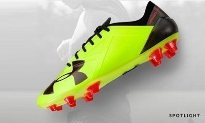 under armour spotlight football boot