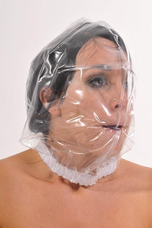 PVC hood mask without breathing holes (HO23)