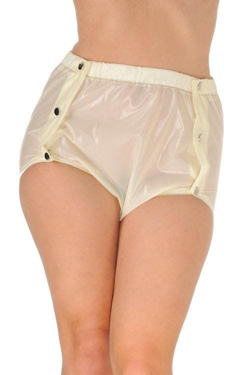 PVC button diaper pants rubber pants Adult Baby (PA24)