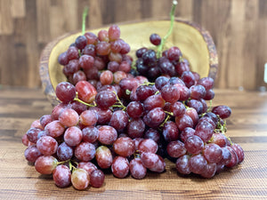 Grapes Red Seedless (bag) - fruitsandveggiess.com