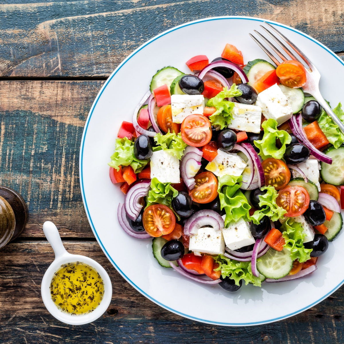 3 classic salad dressings with olive oil that everyone should try | Marqt.no