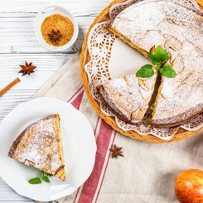 French apple cake | Marqt.no