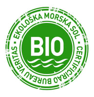 Solana Nin salt is proud to have a BIO certification