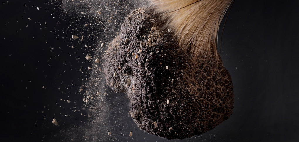 cleaning truffles