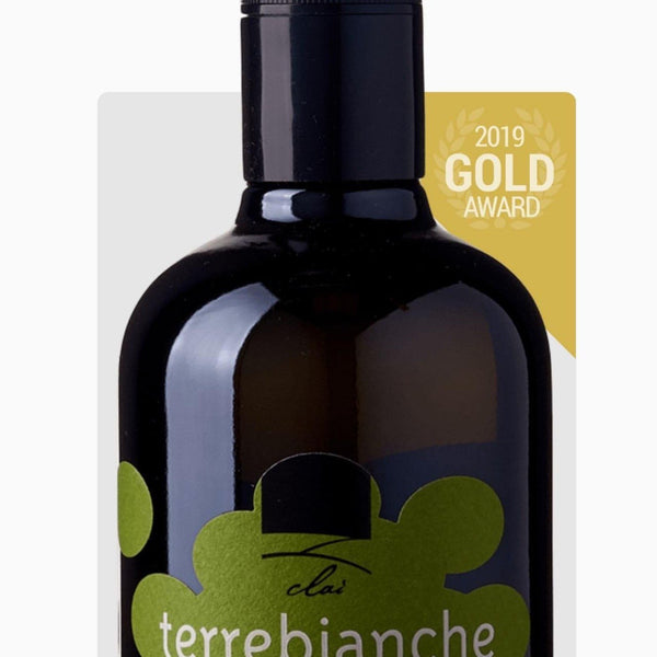 Award winning organic extra virgin olive oil TERRE BIANCHE - Marqt.no