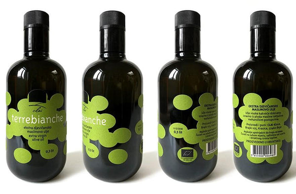 Award winning organic extra virgin olive oil Terrebianche - Marqt.no