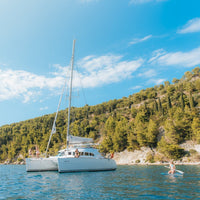 Brachia catamaran sailing experience │The whole boat up to 8 ppl - Marqt.no