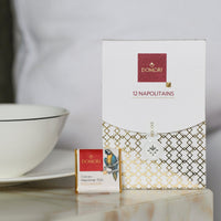 Chocolate tasting box + complementary live virtual chocolate tasting by Domori expert - Marqt.no